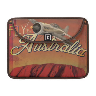 Fliege nach Australien MacBook Pro Sleeve
