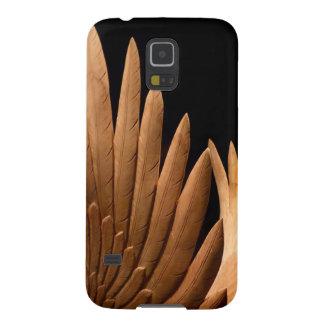 Fliege weg auf hölzernen Flügeln! Samsung Galaxy S5 Hülle
