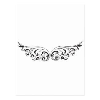 Fliege weg mit diesen Flügeln Postkarte