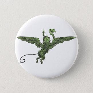 Fliegen-Affe, Zauberer von Oz Runder Button 5,1 Cm