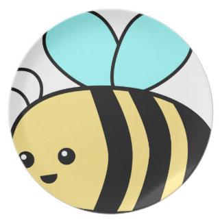 Fliegen-Biene Melaminteller