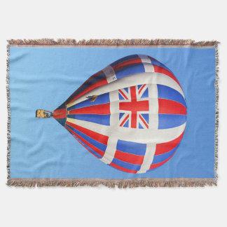 Fliegen-BRITISCHE Wurfs-Decke Decke