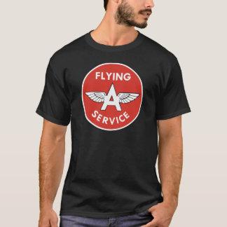 Fliegen eines Services T-Shirt