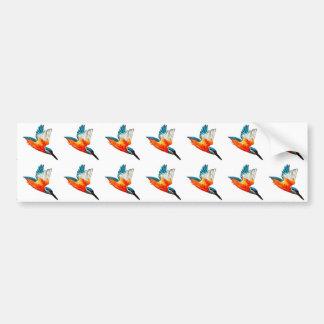 Fliegen-Eisvögel Autoaufkleber