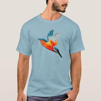 Fliegen-Eisvogel-Kunst T-Shirt