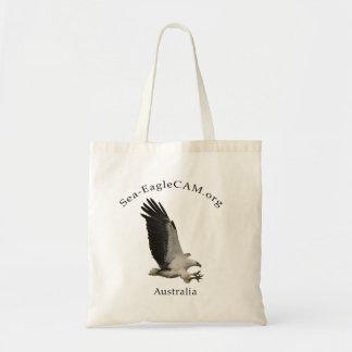 Fliegen erwachsene Meer-Eagle Taschen-Tasche Budget Stoffbeutel