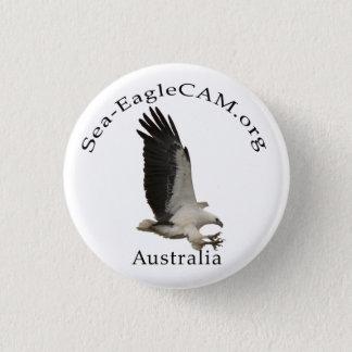 Fliegen erwachsener Meer-Eagle Knopf Runder Button 3,2 Cm