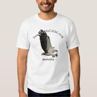 Fliegen erwachsener Meer-Eagle T - Shirt