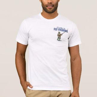 Fliegen-Fischen in den Stelzvögeln T-Shirt
