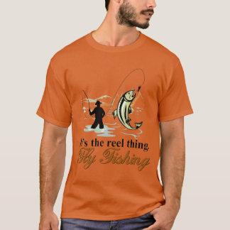 Fliegen-Fischen-Spulen-Sache T-Shirt