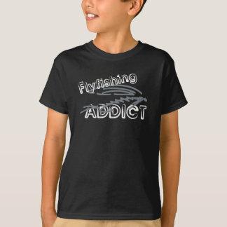 Fliegen-Fischen-Süchtiger T-Shirt