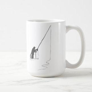 Fliegen-Fischen-Tasse (alter Timer) Kaffeetasse
