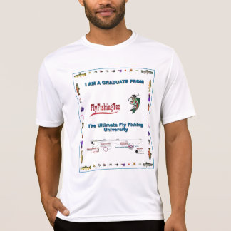 Fliegen-Fischen-technische Universität T-Shirt
