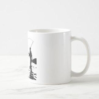 Fliegen-Fischer Kaffeetasse