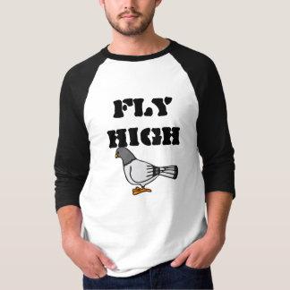 Fliegen-hohe Taube T-Shirt