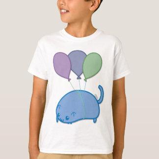 Fliegen-Kätzchen T-Shirt