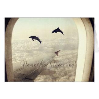 Fliegen mit Delphinen Karte