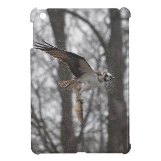 Fliegen-Osprey-u. Fisch-Tier-Foto-Szene iPad Mini Hülle