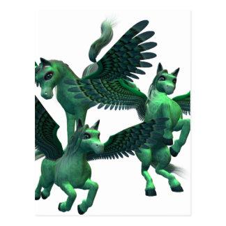 Fliegen Pegasus Postkarte