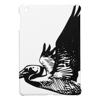 Fliegen-Pelikan iPad Mini Hülle
