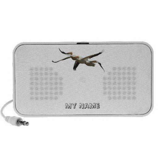 Fliegen-Pelikan-Lautsprecher