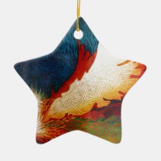 Fliegen-Pferd 2 Keramik Ornament