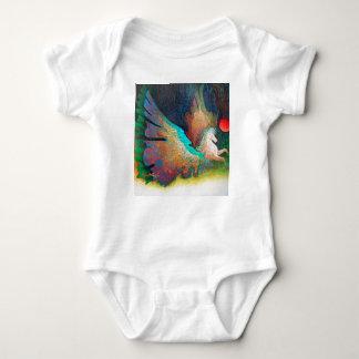 Fliegen-Pferd Baby Strampler