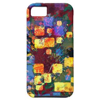 Fliegen-Quadrate iPhone 5 Schutzhülle