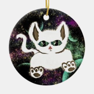 Fliegen-Raum-Katze Keramik Ornament