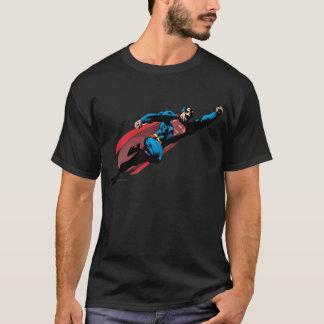 Fliegen rechts - Comic T-Shirt