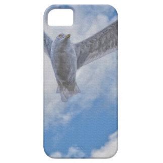 Fliegen-Seemöve u. -wolken iPhone 5 Cover