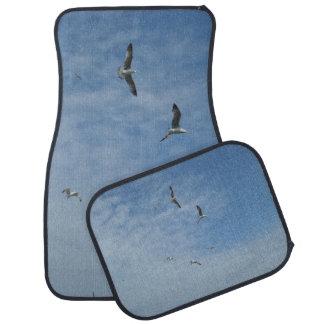 Fliegen-Seemöwe-Auto-Boden-Matten (volles Set) Autofußmatte