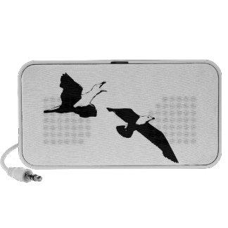 Fliegen-Vögel Laptop Lautsprecher