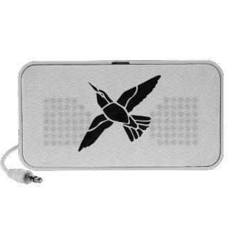 Fliegen-Vogel Laptop Speaker