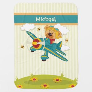 Fliegende Bärn-Baby-Decke Puckdecke