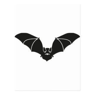 Fliegende Fledermaus Postkarte