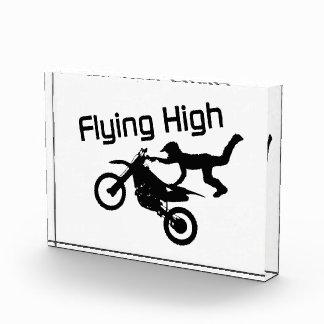 Fliegende hohe Schmutz-Fahrrad-Bremsung Auszeichnung