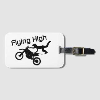 Fliegende hohe Schmutz-Fahrrad-Bremsung Kofferanhänger