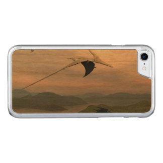 Fliegende Pteranodon Dinosaurier - 3D übertragen Carved iPhone 8/7 Hülle