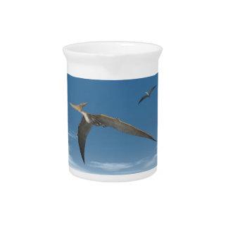Fliegende Pteranodon Dinosaurier - 3D übertragen Krug