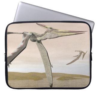Fliegende Pteranodon Dinosaurier - 3D übertragen Laptop Sleeve