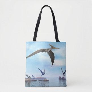 Fliegende Pteranodon Dinosaurier - 3D übertragen Tasche