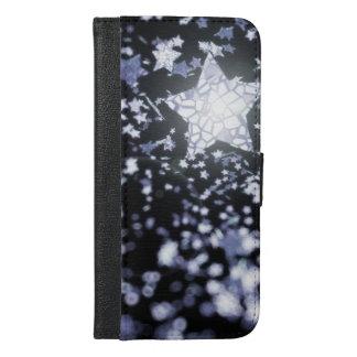 Fliegende Sterne iPhone 6/6s Plus Geldbeutel Hülle