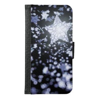 Fliegende Sterne Samsung Galaxy S6 Geldbeutel Hülle