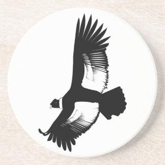 Fliegender Andenkondor Getränkeuntersetzer