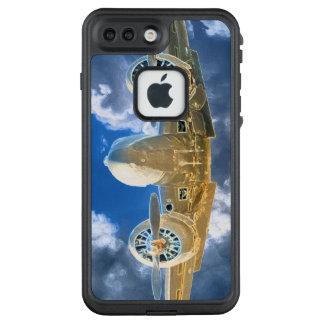 Fliegender hoher Entwurf der Buchen-18 LifeProof FRÄ' iPhone 8 Plus/7 Plus Hülle