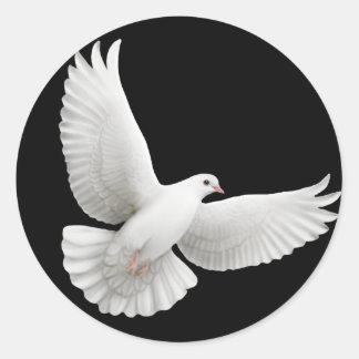 Fliegender Tauben-Aufkleber