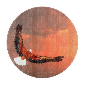 Fliegendes Eagle - 3D übertragen Schneidebrett