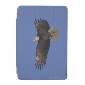 Fliegendes kahler Adler-u. Himmel-Tier-Foto iPad Mini Cover