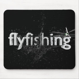 Fliegenfischen Mousepads